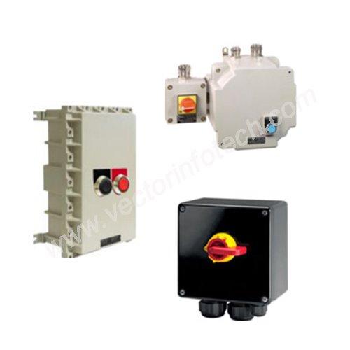 Motor starters & Power isolators | Vector InfoTech